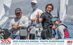 На Первенстве Европы в классе Лазер Радиал Александра Лукоянова завоевала бронзу