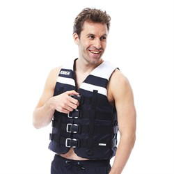 4 Buckle Vest Black - фото 23333