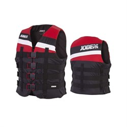 4 Buckle Vest Red - фото 23334