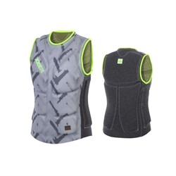 Reversible Comp Vest Men Olive - фото 23389
