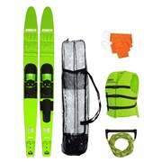 Allegre 67  Combo Skis Lime Green Package