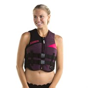 Neoprene Vest Women Bordeaux Red