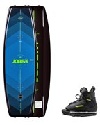 Logo Wakeboard 138 & Unit Bindings Set