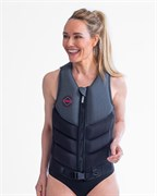 Fragment Vest Women Grey