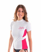 Гидромайка лайкр. JOBE 2021 Rash Guard Shortsleeve Women White