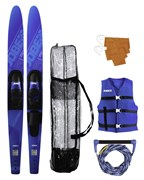 Водные лыжи компл. Jobe 21 Allegre Combo Skis Blue Package