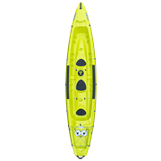 Каяк TAHE 2021 BORNEO GREEN (вместимость 2+1)