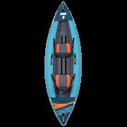 Каяк надувной TAHE 2021 BEACH LP2 PACK (с 2 веслами, вместимость 2)