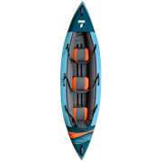 Каяк надувной TAHE 2021 BEACH LP3 PACK (с 3 веслами, вместимость 2+1)