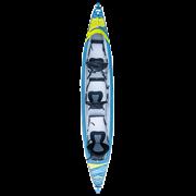 Каяк надувной TAHE 2021 BREEZE FULL HP3 (вместимость 3)