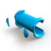 Запчасти UNIFIBER 21 HD Modular Boom Head Carbon Shim + 2 Bumpers